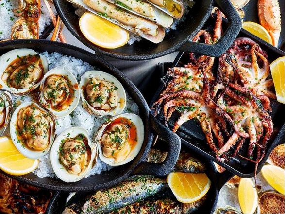 טברנה ביוון psarotaverna מאכלי ים