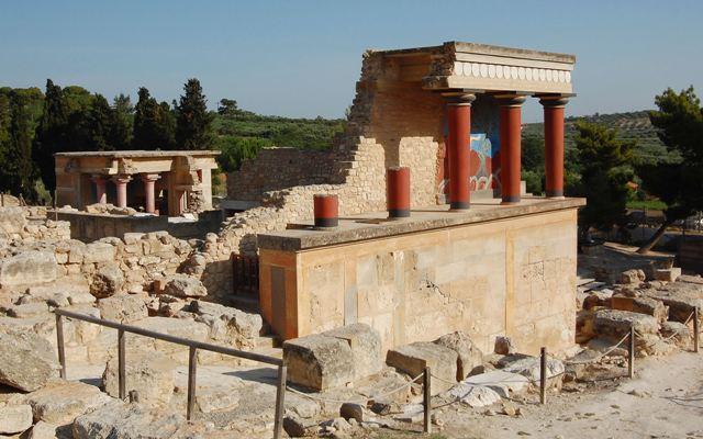כרתים ארמונות קנוסוס