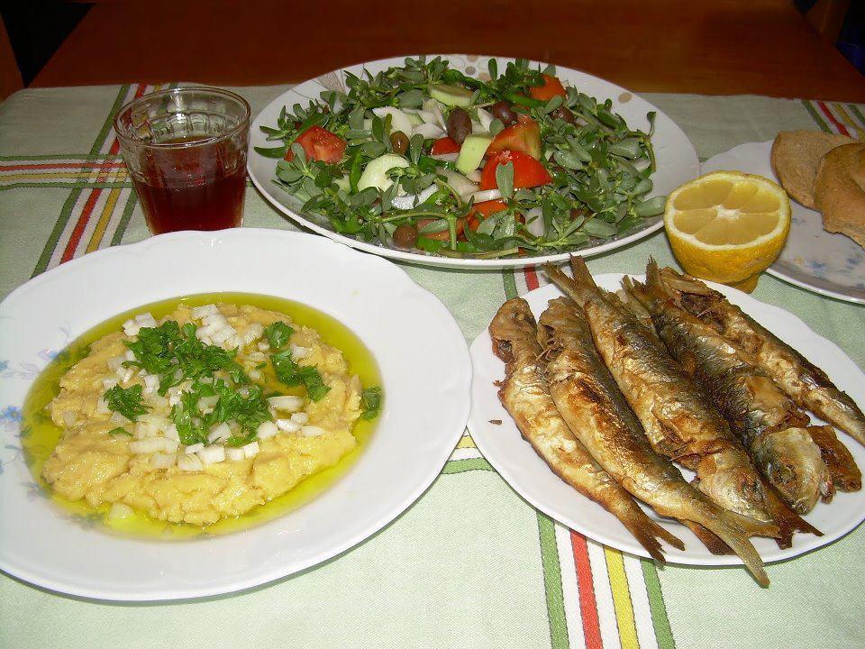 הפשטות של האוכל ביוון